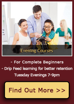 Evening Part Time Photography Courses