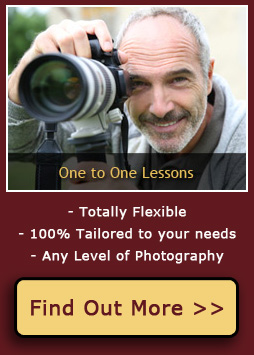 Private 1 to 1 Photography Lessons & Courses