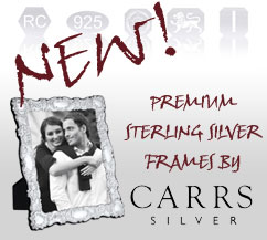 Carrs Silver Photo Frames