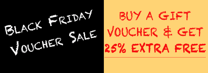 Black Friday Voucher Promotion