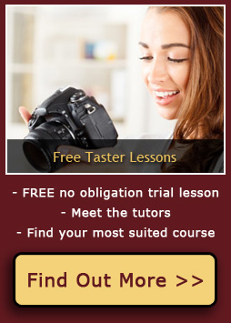 FREE 1 hour Photography Taster Lessons for beginners on Sundays